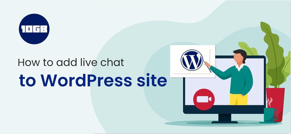 add live chat