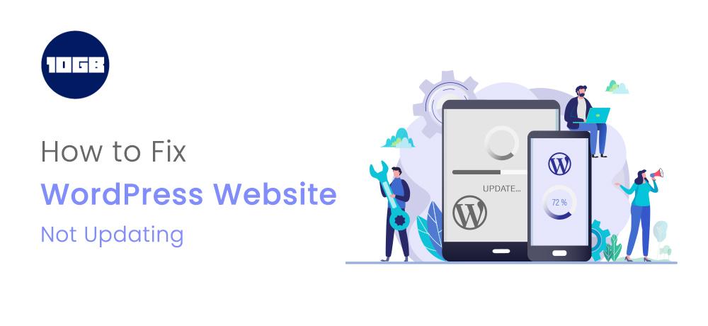 WordPress Website not updating