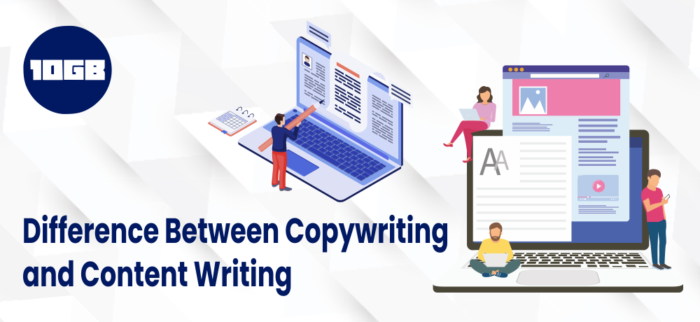Copywriting and content writing