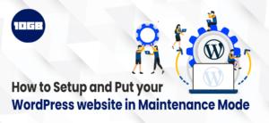 WordPress Website in Maintenance Mode