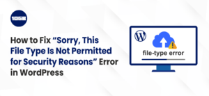 File Type Is Not Permitted for Security Reasons