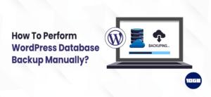 WordPress Database Backup Manually