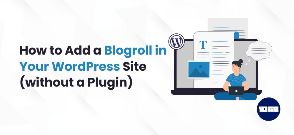 Blogroll in WordPress