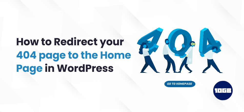 redirect your 404 page